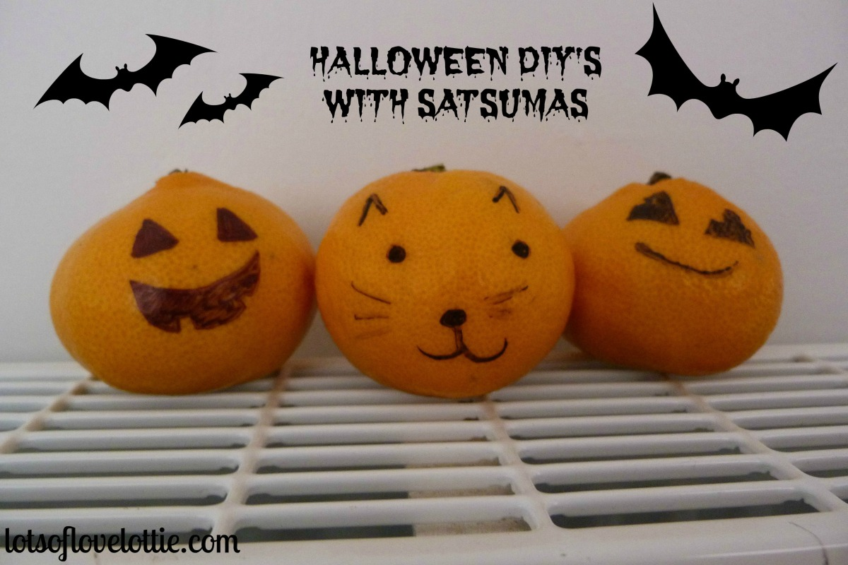 Satsuma Halloween DIY's