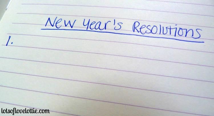 Lots of Love Lottie Blog NY Resolutions 1