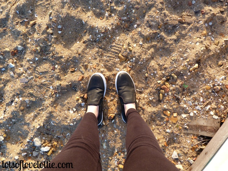 Lots of Love Lottie Blog Favourite Bloggers Shoes on Beach