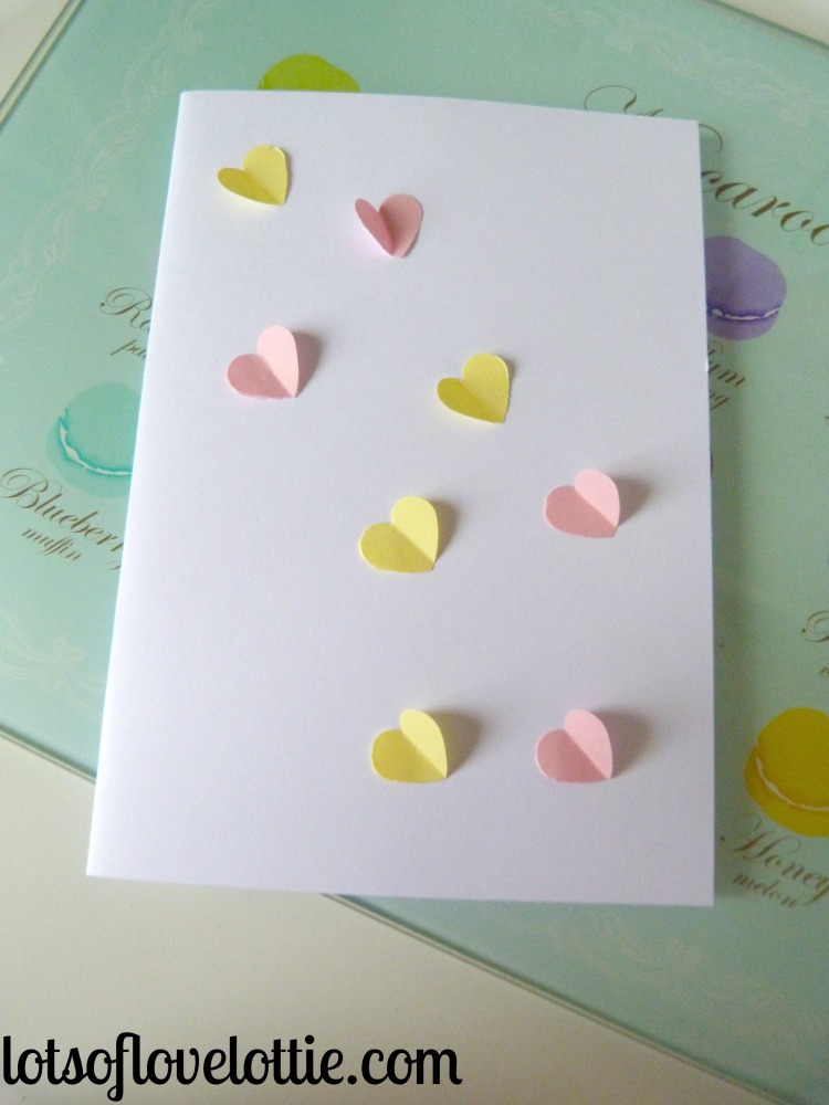 Lots of Love Lottie Blog Valentines Cards First Card