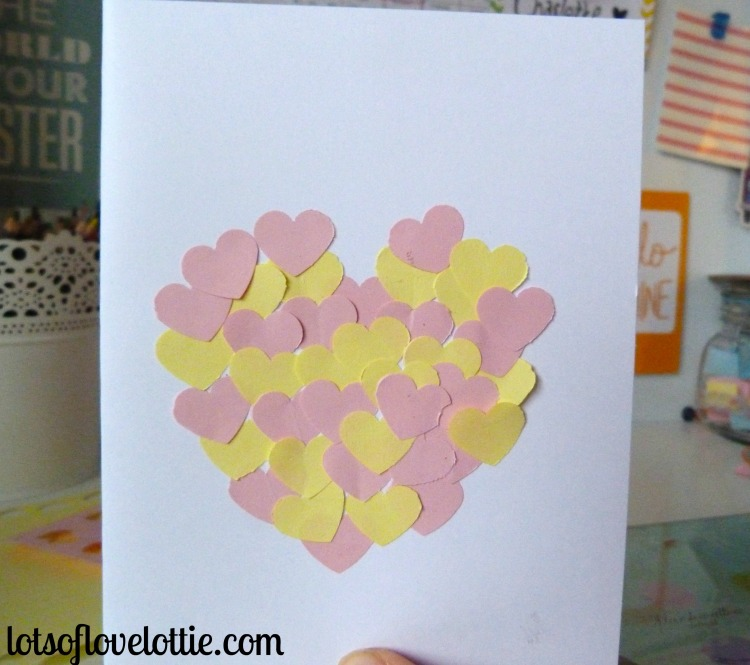 Lots of Love Lottie Blog Valentines Cards Second Card