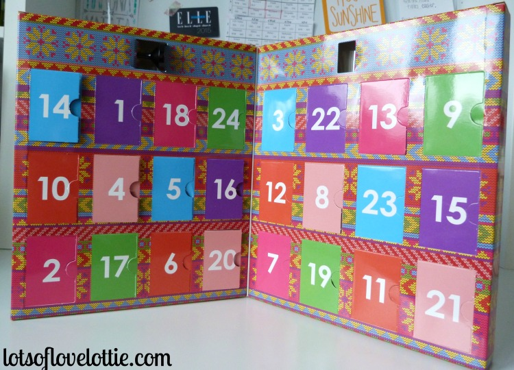 Lots of Love Lottie Blog Birthday Calendar 1