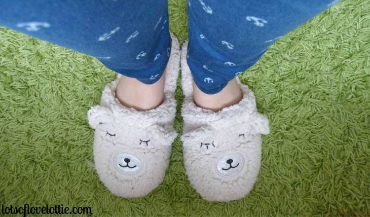 Lots of Love Lottie Blog Feb Favs Bear Slippers