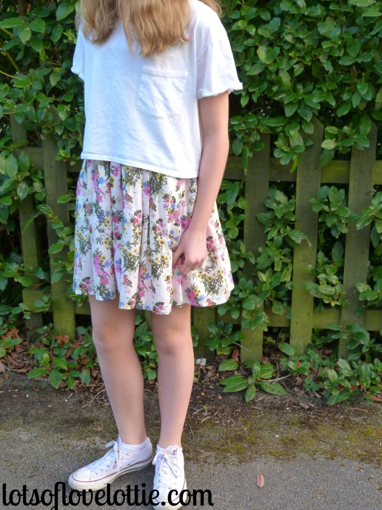 Lots of Love Lottie Blog Topshop Tee Floral 1