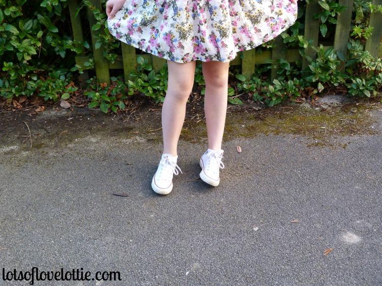 Lots of Love Lottie Blog Topshop Tee Floral 2