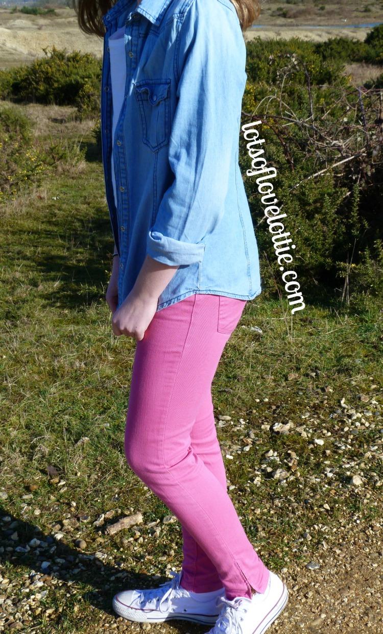 Lots of Love Lottie Blog Topshop Tee Pink 1