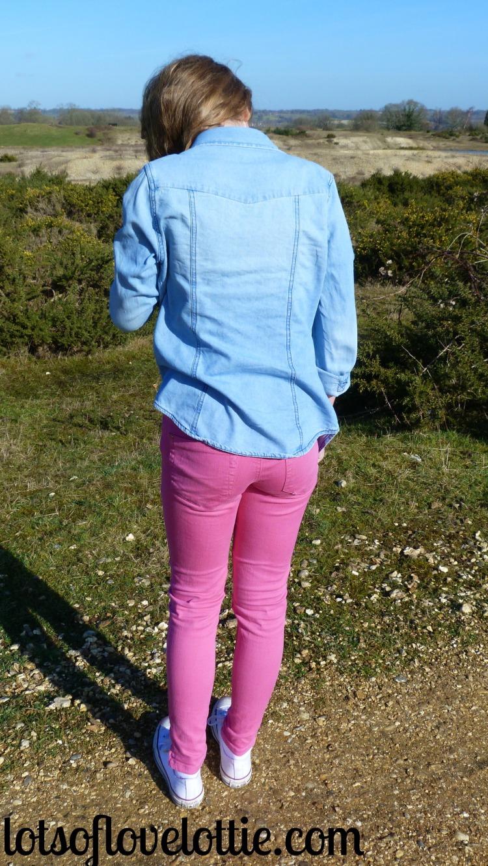 Lots of Love Lottie Blog Topshop Tee Pink 2