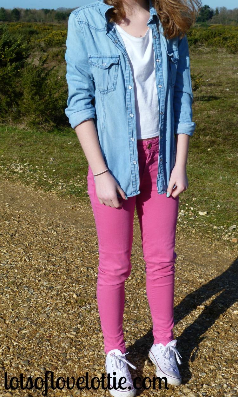 Lots of Love Lottie Blog Topshop Tee Pink 3