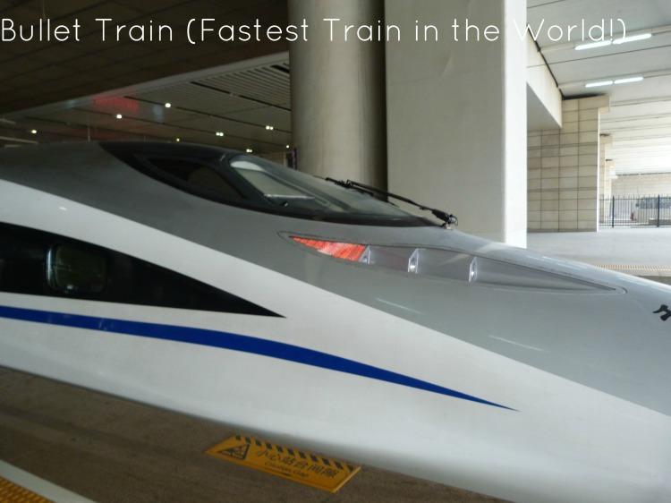 Bullet Train Fastest Train in the World