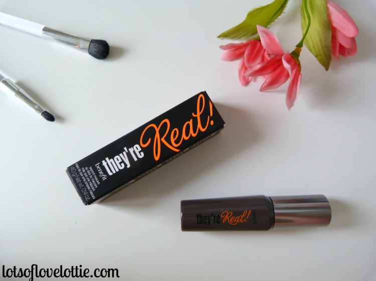 April Favs Benefit Theyre Real Mascara