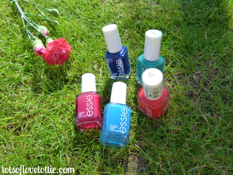 Essie Polishes Together