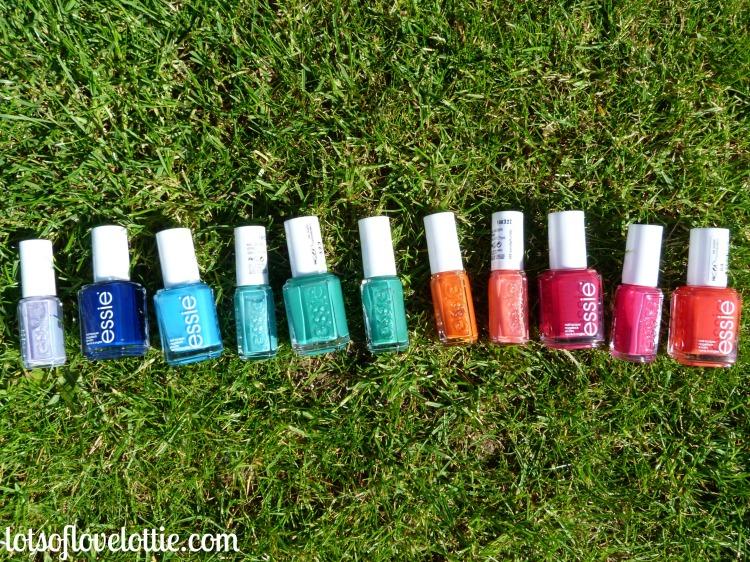 Essie Rainbow Row