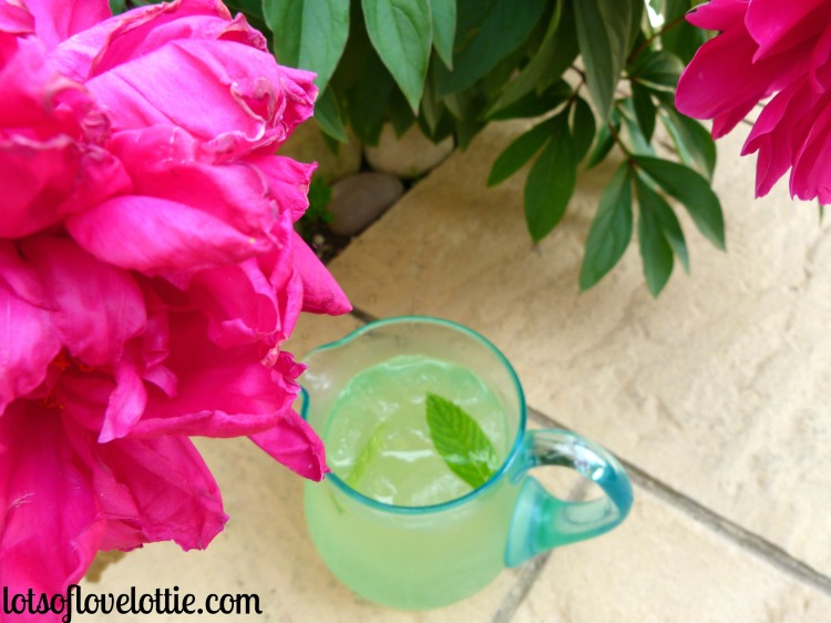 Homemade Lemonade Peony Jug Lots of Love Lottie Blog
