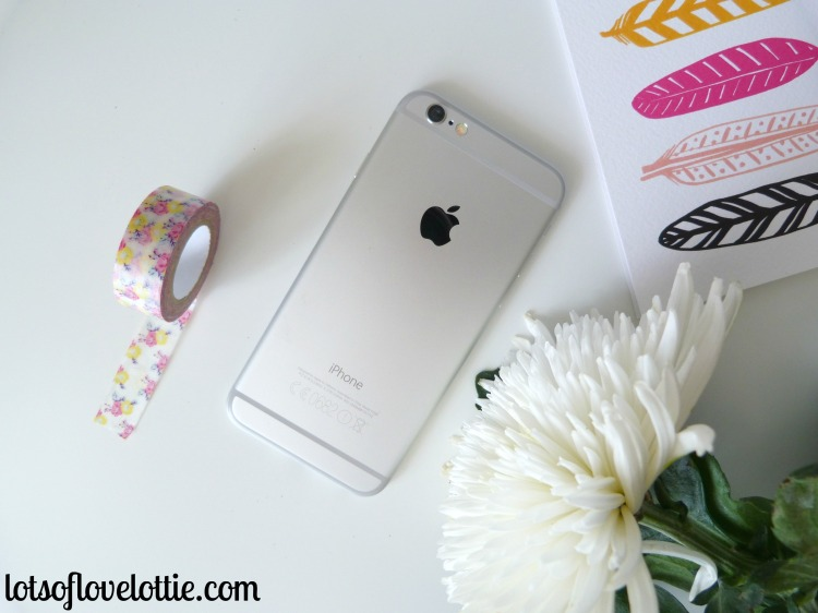 iphone back no case Lots of Love Lottie Blog