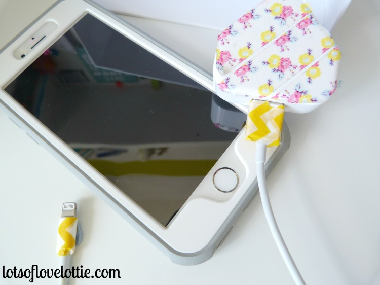 iPhone Charger Lots of Love Lottie Blog
