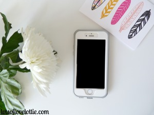 iPhone With case Lots of Love Lottie Blog