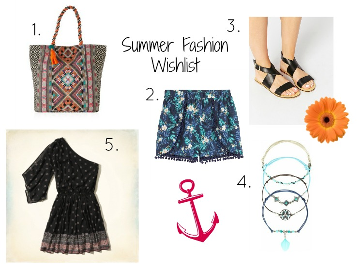 Lots of Love Lottie Blog Summer Fashion Wishlist