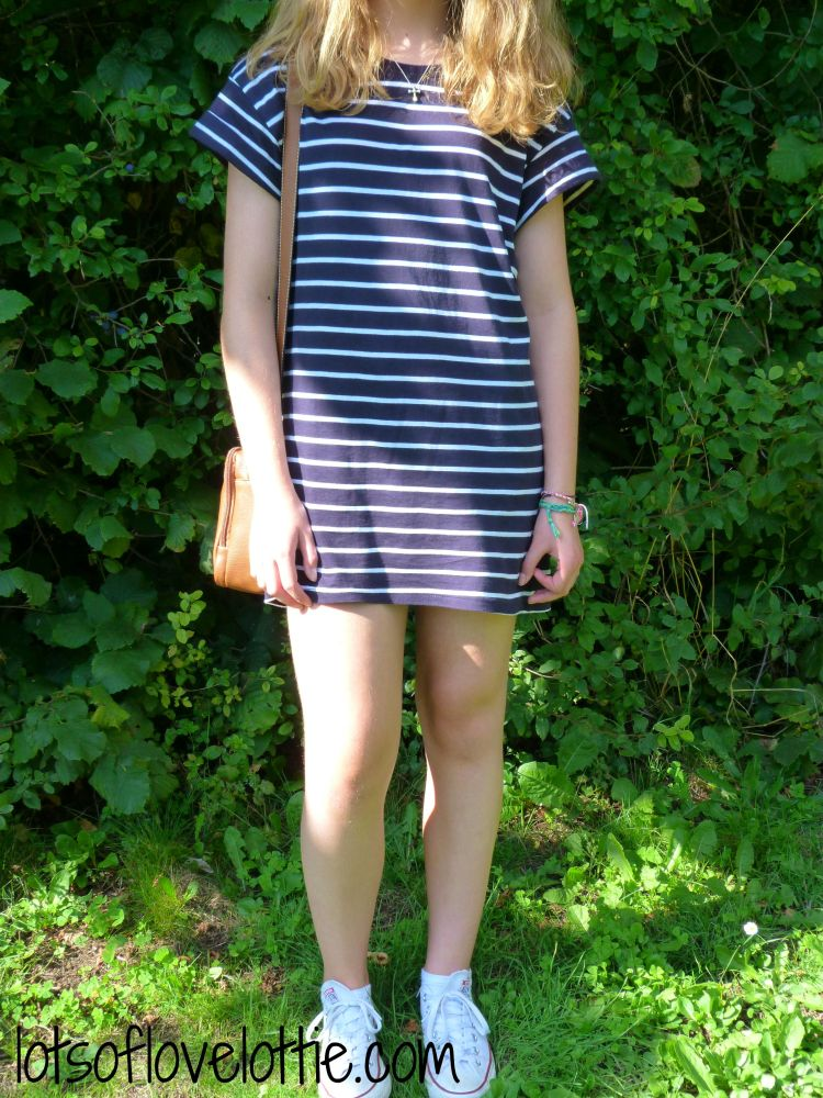 Lots of Love Ltotie Blog T Shirt Dress 2